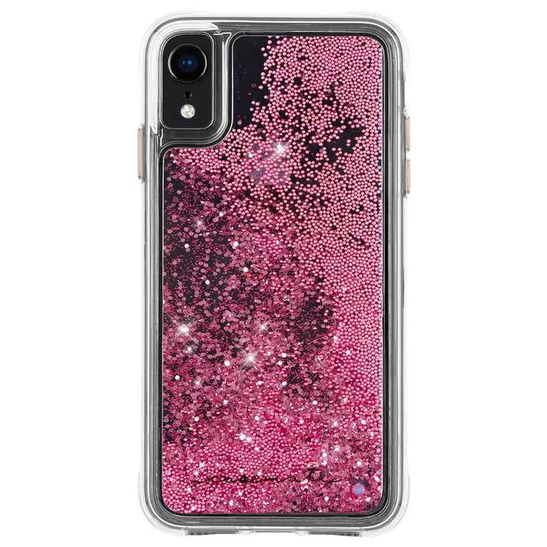 Case-Mate Waterall Case iPhone XR Rose Gold