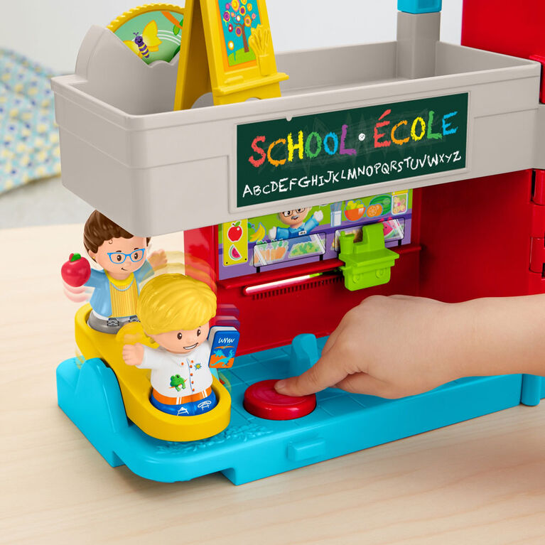 Fisher-Price Little People School House Playset - Bilingual Edition