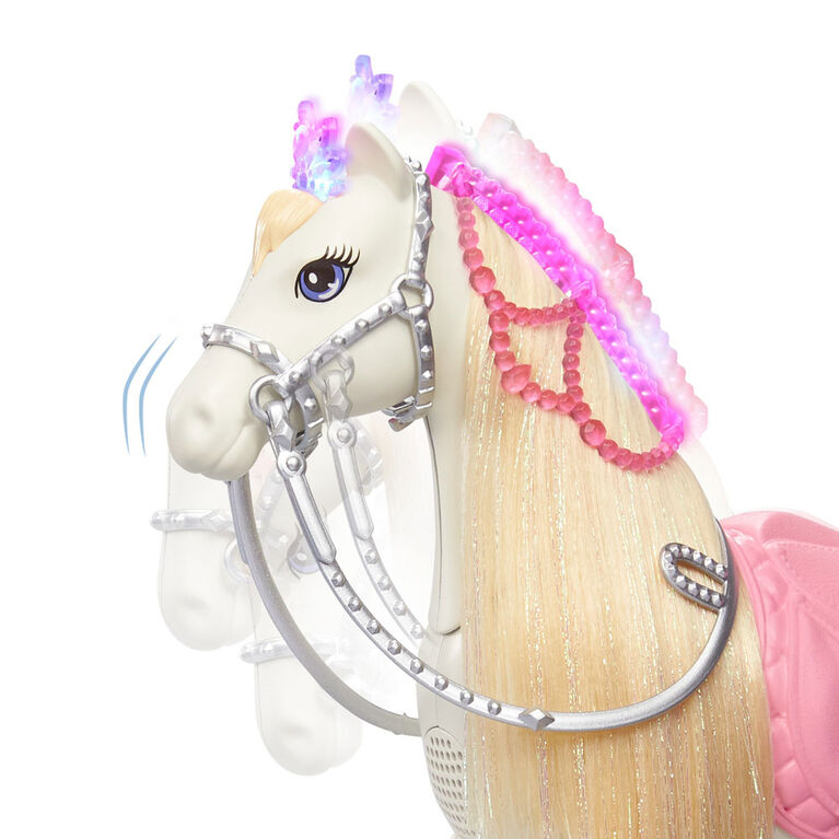 Barbie Princess Adventure Doll and Prance & Shimmer Horse with Lights and Sounds