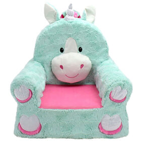 Soft Landing Sweet Seats -  Unicorn Character Chair