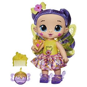 Baby Alive poupée GloPixies Siena Sparkle, poupée interactive de fée lumineuse