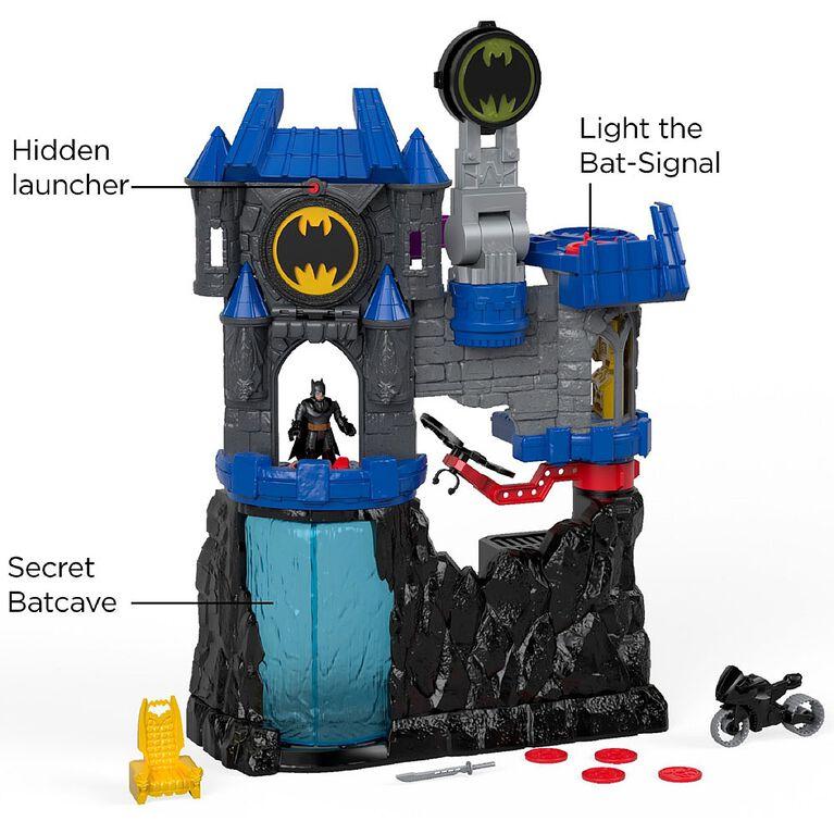 Fisher-Price -  Imaginext DC Super Friends Wayne Manor Batcave Set