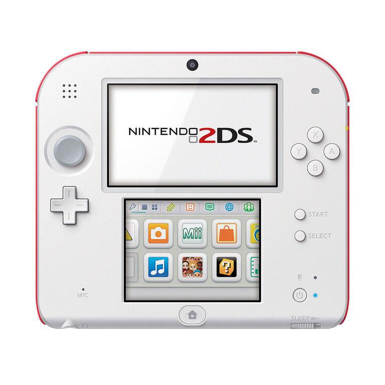 Nintendo 2DS™ – Scarlet Red w/New Super Mario Bros 2