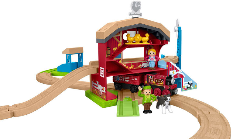 Fisher-Price Thomas & Friends Wood Family Farm Set - English Edition