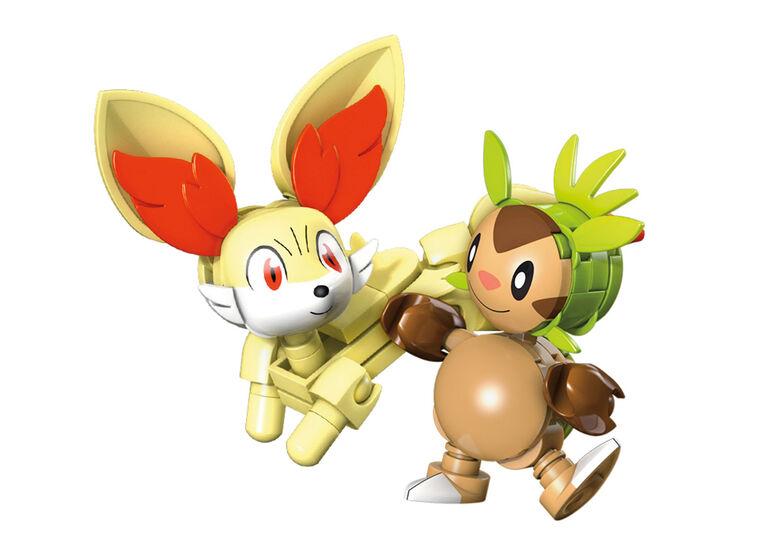 Mega Construx Pokémon - Marisson contre Feunnec