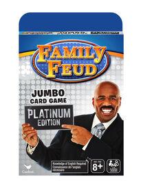 Platinum Edition Family Feud Jumbo Card Game