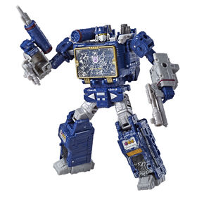 Transformers Generations War for Cybertron Voyager WFC-S25 Soundwave Action Figure - Siege Chapter