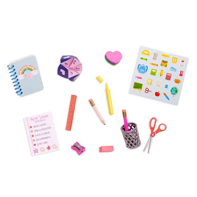 Our Generation, Brilliant Bureau Desk Set for 18-inch Dolls