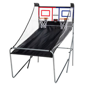 Franklin Sports Pro Hoops Rebound Game with LED background