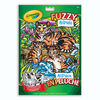 Crayola Fuzzy Animals Colouring Pages
