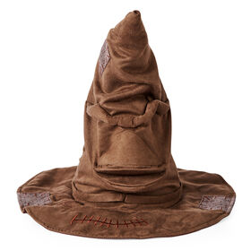 Wizarding World Harry Potter, Talking Sorting Hat with 15 Phrases for Pretend Play