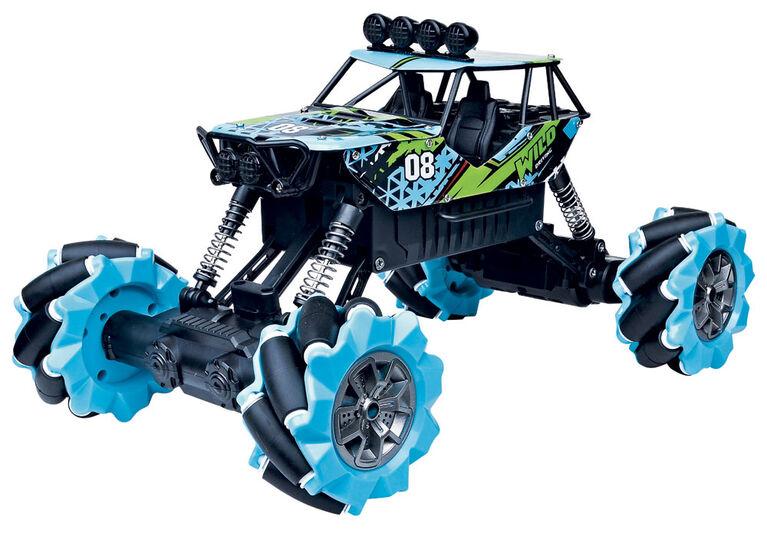 RC Monster Drift - Bleu - Édition anglaise