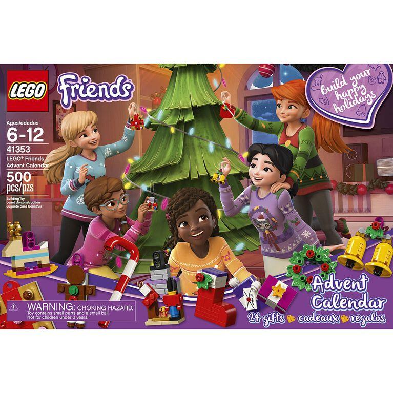 Lego Calendrier.Le Calendrier De L Avent Lego Friends 41353