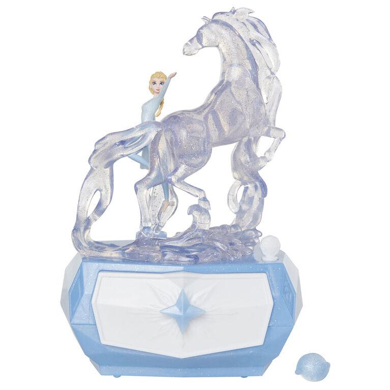 Frozen II Boîte à bijoux animaux Elsa & Spirit