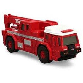 Camion de sauvetage et d'incendie en métal moulé de Tonka