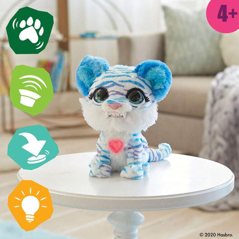 furReal, North, le tigre polaire, jouet interactif, + de 35 sons et mouvements