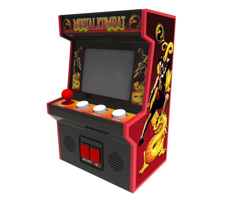 Arcade Classics - Mortal Kombat Retro Mini Arcade Game