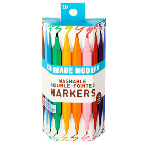 Ensemble de 15 marqueurs Double Pointed Markers
