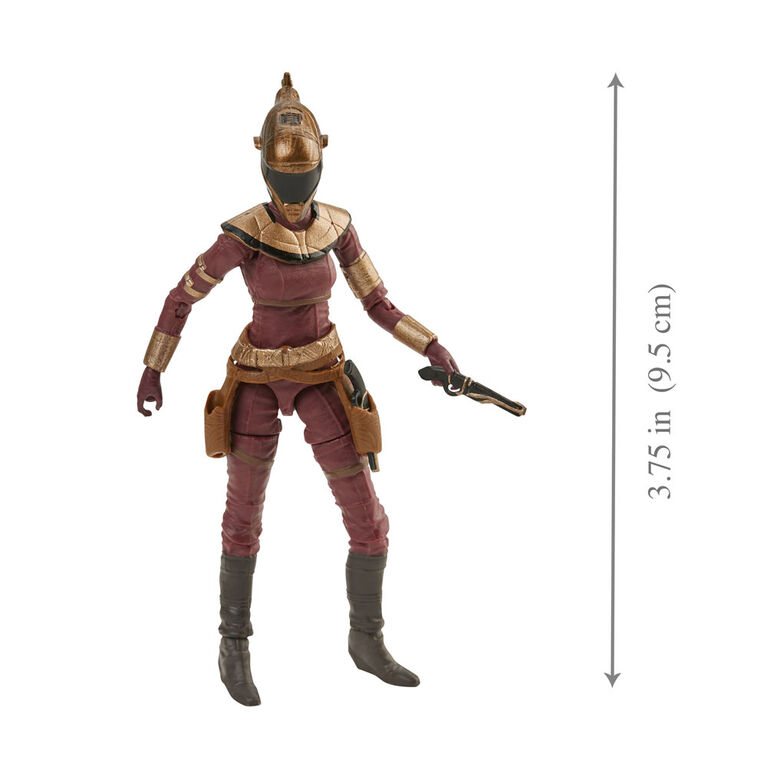 Star Wars The Vintage Collection Star Wars: The Rise of Skywalker Zorii Bliss Toy, 3.75-inch Scale Action Figure