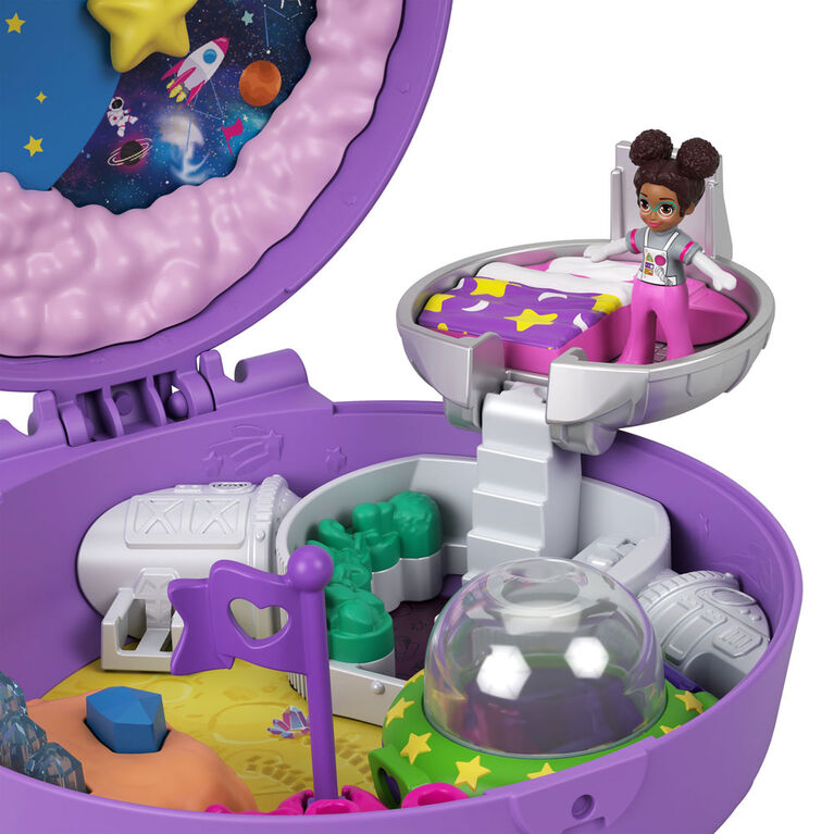 Polly Pocket Saturn Space Explorer Compact