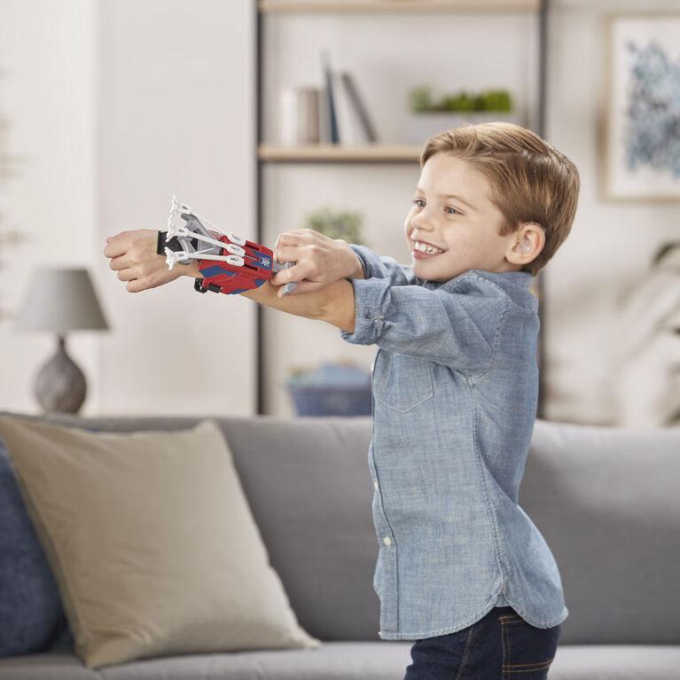 Foudroyeur jouet Toiles multiples à technologie NERF Spider-Man Webshots.