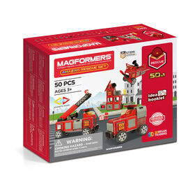 Magformers Amaz!ng Rescue 50 Piece Set