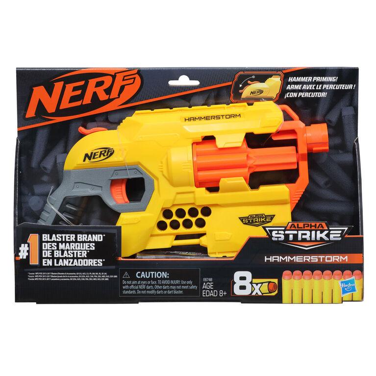Nerf Alpha Strike Hammerstorm Blaster - R Exclusive