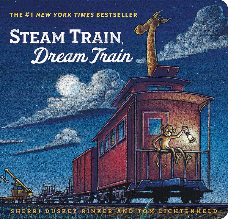 Steam Train, Dream Train Board Book - English Edition