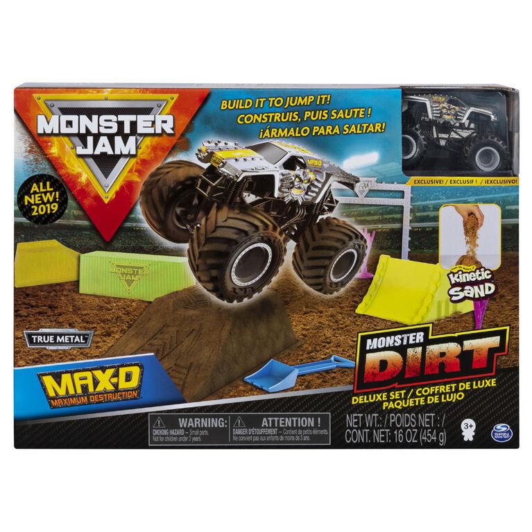Monster Jam, Max D Monster Dirt Deluxe Set.