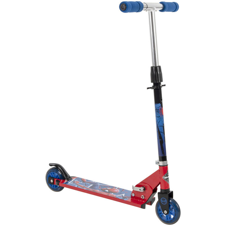 Huffy Marvel Spider-Man - Folding Kick Scooter - 2-Wheel
