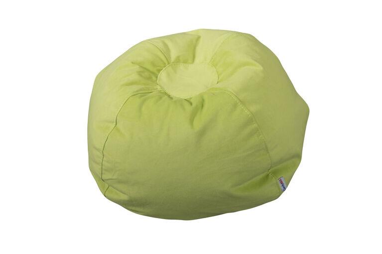 Fauteuil poire pour enfants de Comfy Kids - Vert