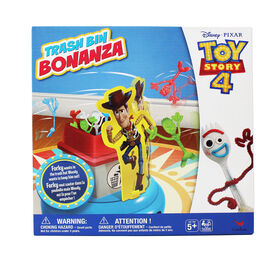 Disney Pixar Toy Story 4 Trash Bin Bonanza Game - R Exclusive