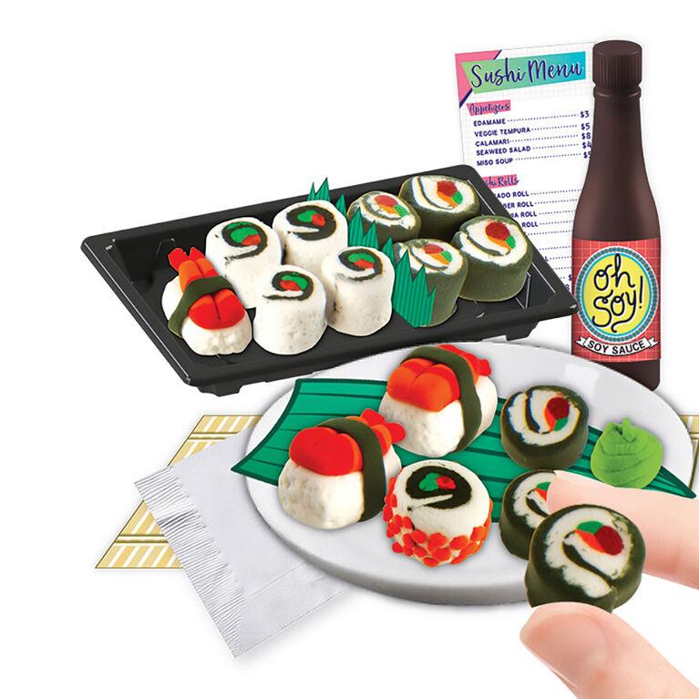 Fashion Angels - Kit 100% mini argile extra-plat pour petits sushis