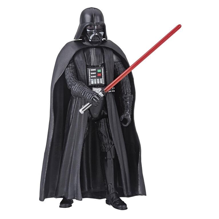 Star Wars Galaxy of Adventures Darth Vader Figure and Mini Comic