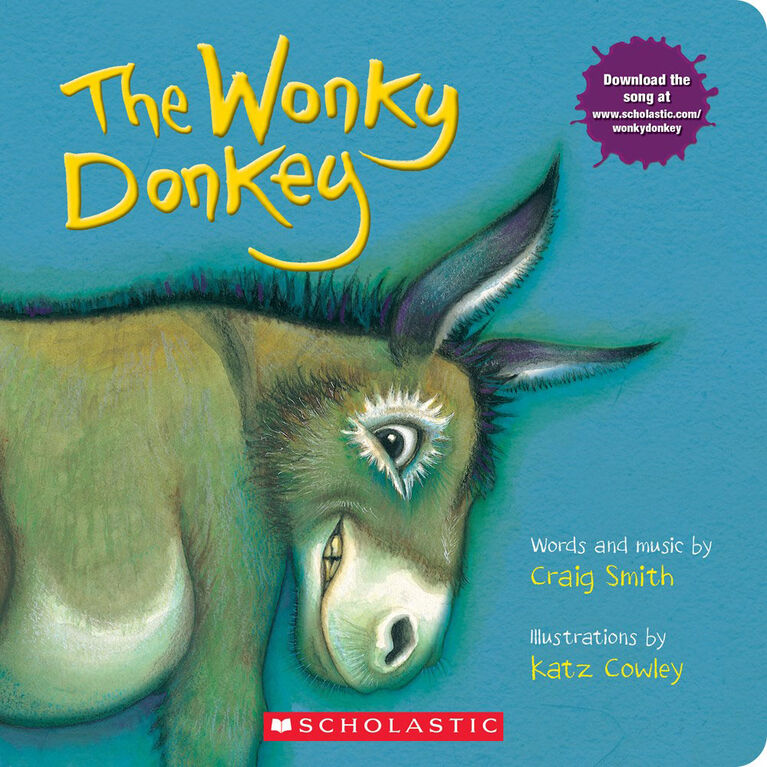 Scholastic - The Wonky Donkey - Édition anglaise