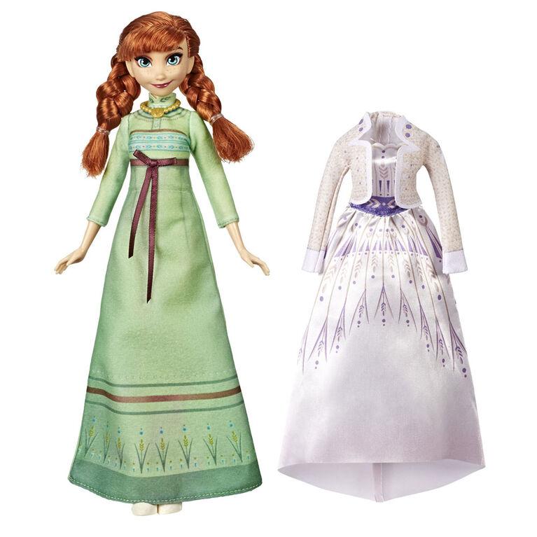 Disney Frozen, poupée mannequin Anna Styles d'Arendelle