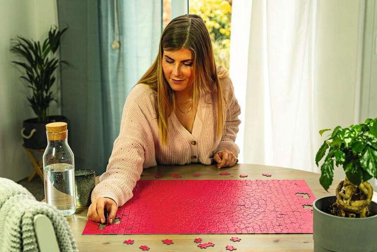 Ravensburger - Krypt Pink puzzle 654pc