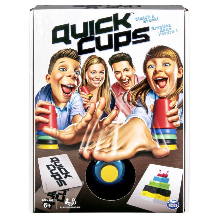 Quick Cups, jeu familial