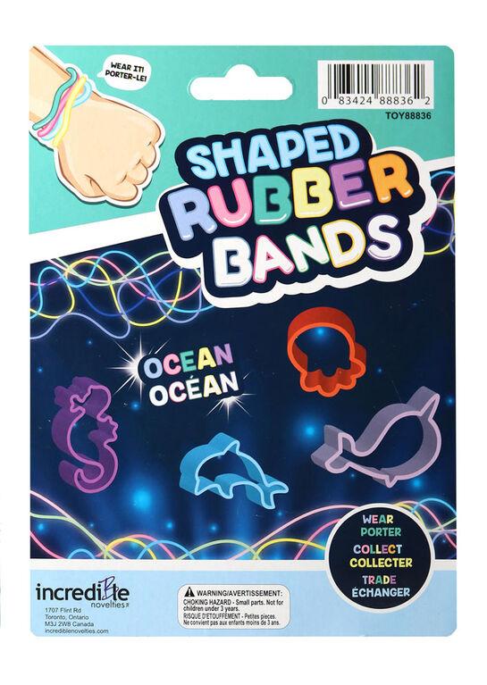 Bracelets élastiques en forme d'océan