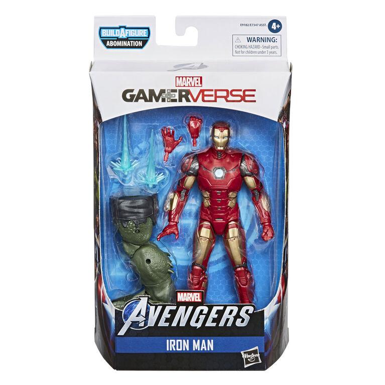 Marvel Legends Series Gamerverse, figurine articulée Iron Man