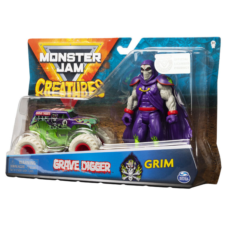 Monster Jam 1:64 Creature Figures