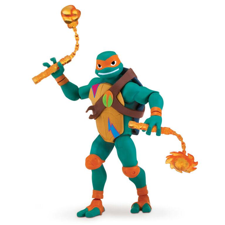 Rise of the Teenage Mutant Ninja Turtles - Michelangelo Action Figure