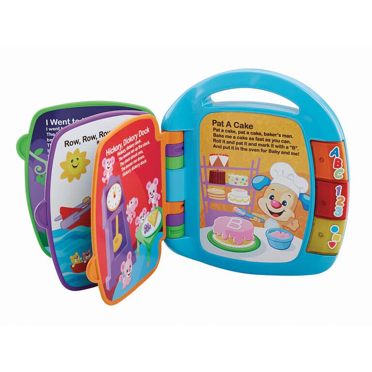 Fisher Price - Laugh and Learn Storybook Rhymes Book - English Edition