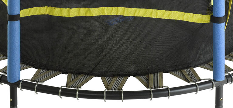 """Upper Bounce 55"""" Kid-Friendly Trampoline & Enclosure Set equipped with """"Easy Assemble Feature"""""""
