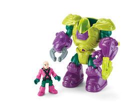 Fisher-Price Imaginext DC Super Friends Lex Luthor Mech Suit - English Edition