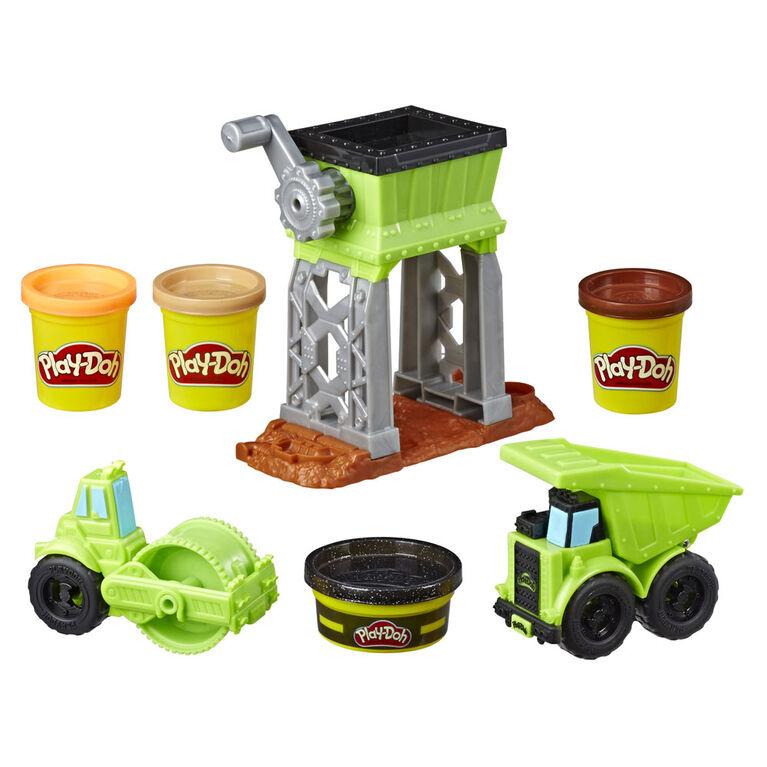 Cour de gravier Play-Doh Wheels