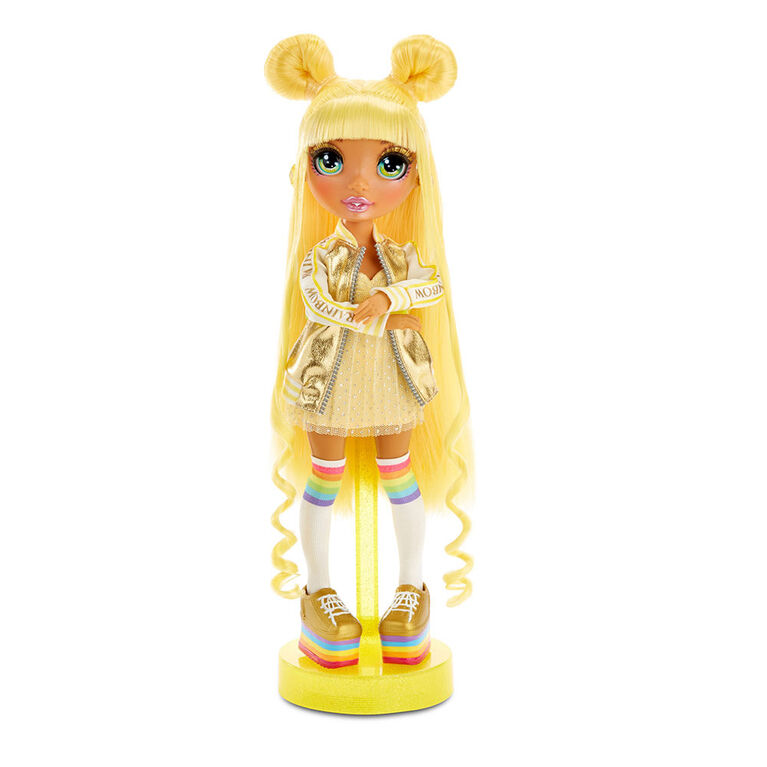 Rainbow High Sunny Madison - Yellow Fashion Doll with 2 Outfits