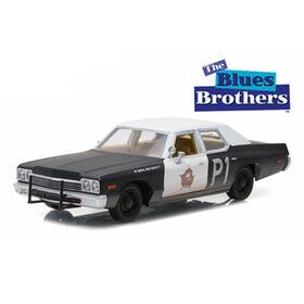 "1:24 Hollywood Series 1 - Blues Brothers (1980) - 1974 Dodge Monaco ""Bluesmobile""  - English Edition"