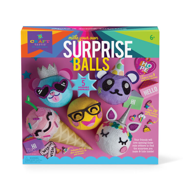 Craftastic Make Your Own Surprise Ball - Édition anglaise