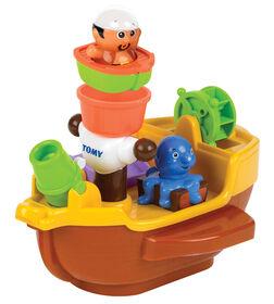 Jouet pour le bain Pirate Bath Ship de TOMY